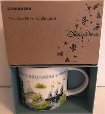 Disney Parks Starbucks You Are Here Hollywood Studios Coffee Mug 3rd Alien New