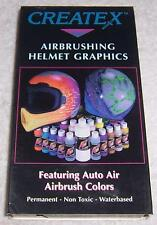 Airbrushing Helmet Graphics VHS Video motorcycle Createx