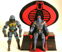 Gi joe cobra 3d printed  cobra commander Throne for Destro or Serpentor