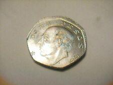 1981 Mexico 10 Pesos Off Center Error