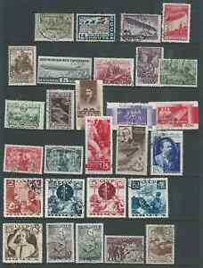RUSSIA NICE LOT 1930s ISSUES USED ZEPPELINS SEEN INTERESTING!