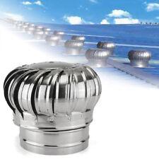 Rain-proof Attic Rotary Fan Ventilator Turbine Vent Wind Roof Exhaust 300mmφ MWT