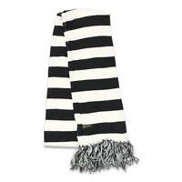 Von Zipper Mens Masccfol Scarf Black White One Size New