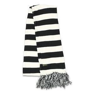 Von Zipper Mens Masccfol Scarf Black White One Size New