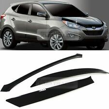 San Front Hood Guard Bug Shield Molding Cover for HYUNDAI 2010-2015 Tucson ix35