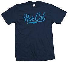 Nor Cal Script & Tail T-Shirt - California Republic Sports - All Sizes & Colors