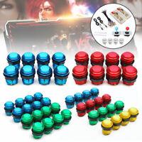 2 Players DIY Arcade Joystick Kit PC Game USB Encoder Controller LED Push Button