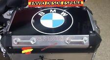 Kit 2x pegatinas Maletas Decal Stickers Moto Logo Emblema BMW 27x27cm