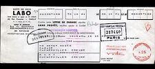 """PARIS (VIII°) HUILES AUTOMOBILE """"LABO"""" en 1961"""