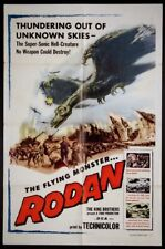 RODAN THE FLYING MONSTER TOHO SCI-FI INOSHIRO HONDA 1957 1-SHEET
