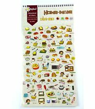1 sheet Home-made dishes sandwich bread pie Craft scrapbooking filofax stickers