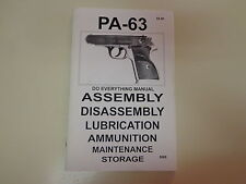 The Ultimate KBI PA-63 – Do Everything Manual Pistol Reference Firearms
