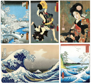 Vintage Japanese paintings art wall art print/poster A4/A3
