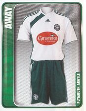 231 AWAY KIT ENGLAND PLYMOUTH ARGYLE STICKER FL CHAMPIONSHIP 2010 PANINI