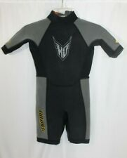 HO Sports X-Factor All-Sport Shorty Wet Suit Youth Size 12 AquaSeal Neoprene GUC