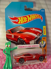 CCM COUNTRY CLUB MUSCLE #170✰Red; TRAP5✰Muscle Mania✰2017 i Hot Wheels case H/J