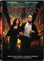 Inferno [DVD] TOM HANKS Brand New sealed ships NEXT DAY with tracking
