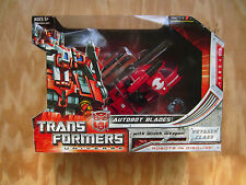 Transformers Voyager Class Series Univers Autobot Blades+Winch Weapan 2008 MISB