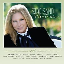Partners by Barbra Streisand (CD, Sep-2014, Sony Music Entertainment) NEW