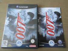 JEU NINTENDO GAMECUBE JAMES BOND 007 EVERYTHING OR NOTHING COMPLET  GAME CUBE