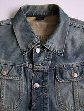 Giacca di jeans Diesel Gregg Large Uomo Blue Wash MA737 VINTAGE ljktk 144 #