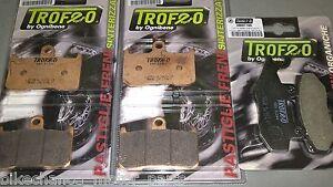 Triumph Tiger 1050 kit pastiglie anteriori sinterizzate + posteriori organiche
