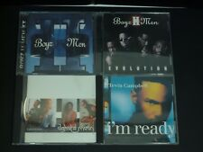 Lot of 4 Various R and B CDs Boys II Men, Dakota Moon, Tevin Campbell