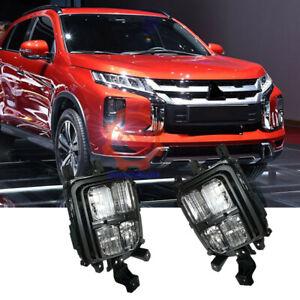 ❤Pair Fog Lights Front Bumper Light For Mitsubishi Outlander Sport/ASX 2020-2021