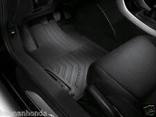 Genuine OEM Honda Accord 2dr Coupe Black All Season Floor Mat Set 2013-2017 Mats