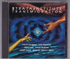 STRATA INSTITUTE - TRANSMIGRATION - CD DIW © 1992 STEVE COLEMAN -GREG OSBY