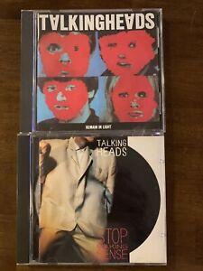 Talking Heads - 2 CD's Stop Making Sense & Remain in Light