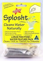 SPLOSHT Large Fish Pond Cleaner Algae Killer Natural Water Cleaner