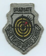 Us Air Force Graduate Fighter Weapons School Military patch