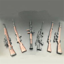 1//6 Gun Modle Toy Assault Rifle Scatter Weapon For 12/'/' Figure Soldier Accessory