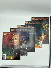 Dynamite Comics: Battlestar Galactica 5 book lot 1, 2, 3, 4 & 5 Starbuck Cyclons