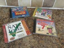 Children's educational C.D. ROMS X 4
