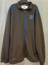 Duke Nike Football Full Zip Team Jacket - Excellent Condition - XL