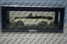 Norev Porsche 911 Turbo Cabriolet 1987 White 1:18 Scale 187661