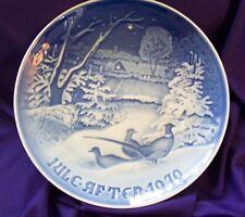"B&G COPEHAGEN ""PHEASANTS IN THE SNOW"" PLATE"