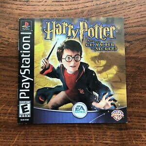 Harry Potter Chamber of Secrets PS1 Playstation 1 PS One Instruction Manual Only