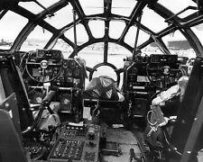 WW2 Photo WWII USAAF B-29 Superfortress Cockpit View  World War Two / 5190