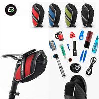 ROCKBROS Bicycle Bags Waterproof Saddle Bag Reflective Rear Seatpost Bike Bags