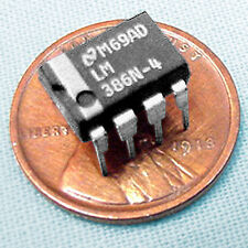 (2) Lm386N-4, 700+ mW Output Power, Genuine National Semiconductor parts!