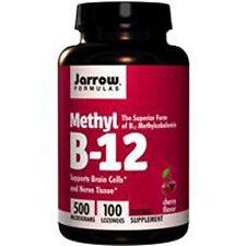 Vitamin B-12, Methylcobalamin, 500mcg x 100lozs, Energie, Jarrow Formulas