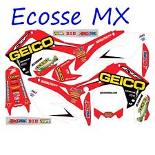 Honda CR250 CR125 2002-2007 NEW DCOR GEICO Graphics Stickers Decals Motocross