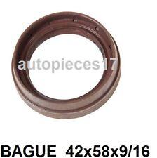 BAGUE ETANCHEÏTE JOINT SPI DE DIFFERENTIEL / BOITE CORTICO  RENAULT 42x58x9/16