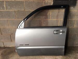 2003 Toyota 4Runner Front Left Door Silver Used