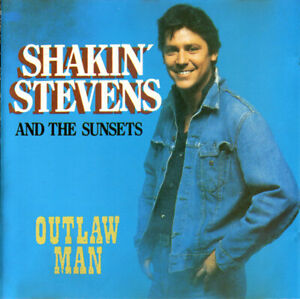 Shakin' Stevens And The Susets - Outlaw Man (1987) CD - EXCELLENT Condition