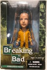 "Breaking Bad Jesse Pinkman Bobblehead Yellow Hazmat Suit Mezco 6"" Original Box!!"