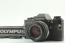[EXC5] Olympus OM-10 SLR Black Model + ZUIKO AUTO-S 50mm f/1.8 Late From JAPAN